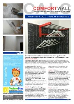 Technostuc_COMFORTWALL_CALC_brochureblad 140201