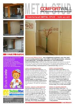 Technostuc_NL_COMFORTWALL_METAL_STUD_brochureblad 130409_WEB